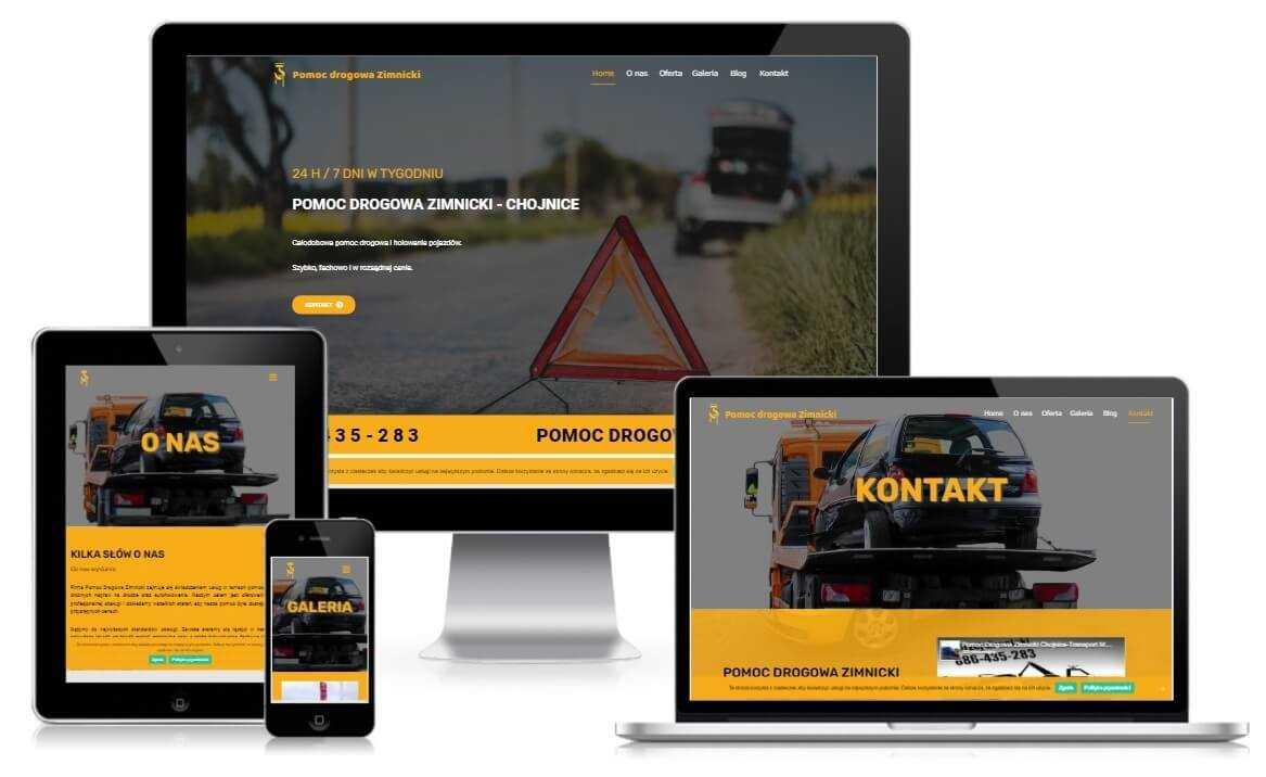 strona internetowa pomoc drogowa chojnice